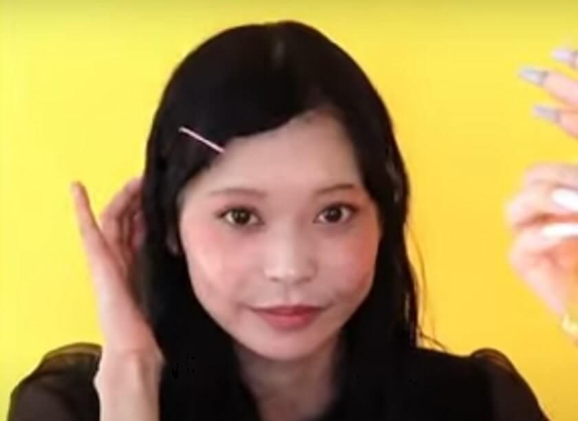 【TicToker】絢乃唯那のすっぴんは可愛い?②ノーメイク